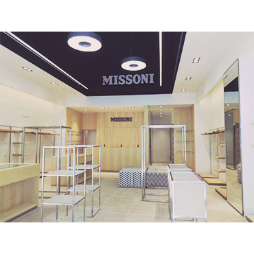 missoni store la roca village construction management